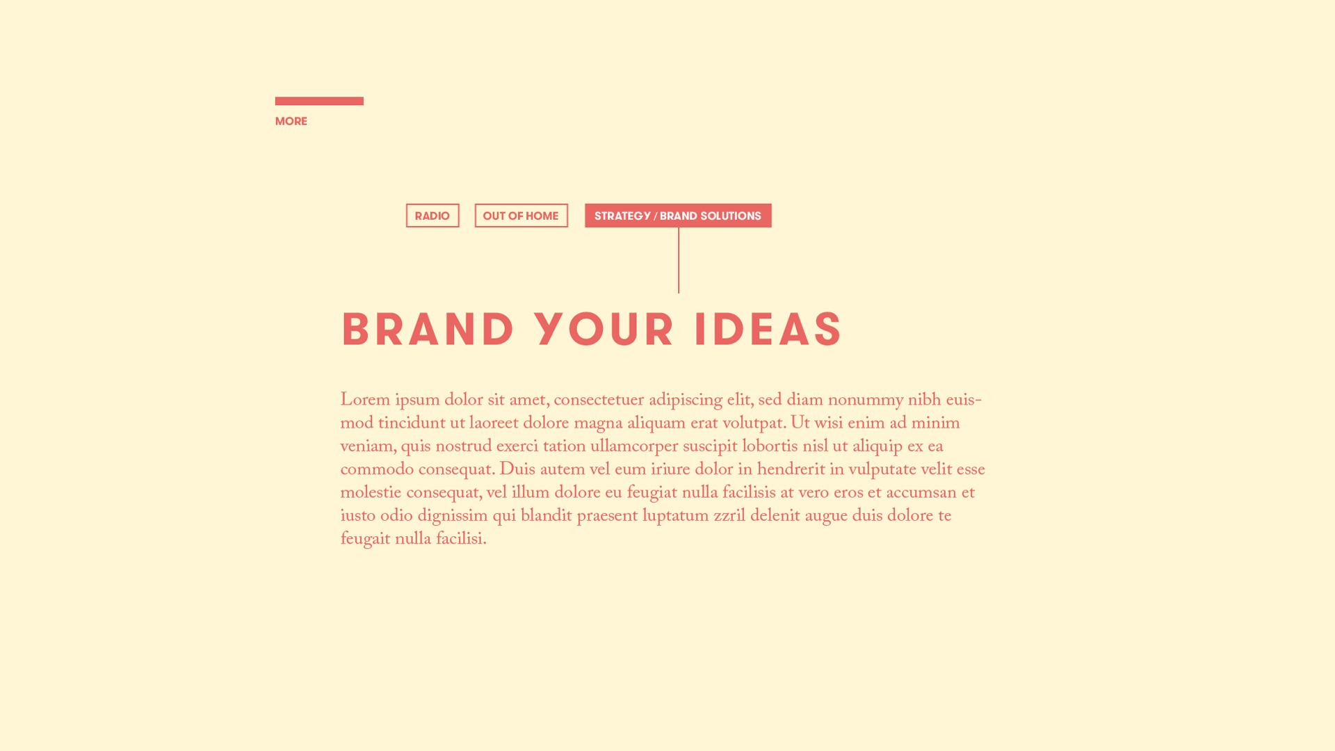 Webdesign – Webseite – DCMN – Konzept 02