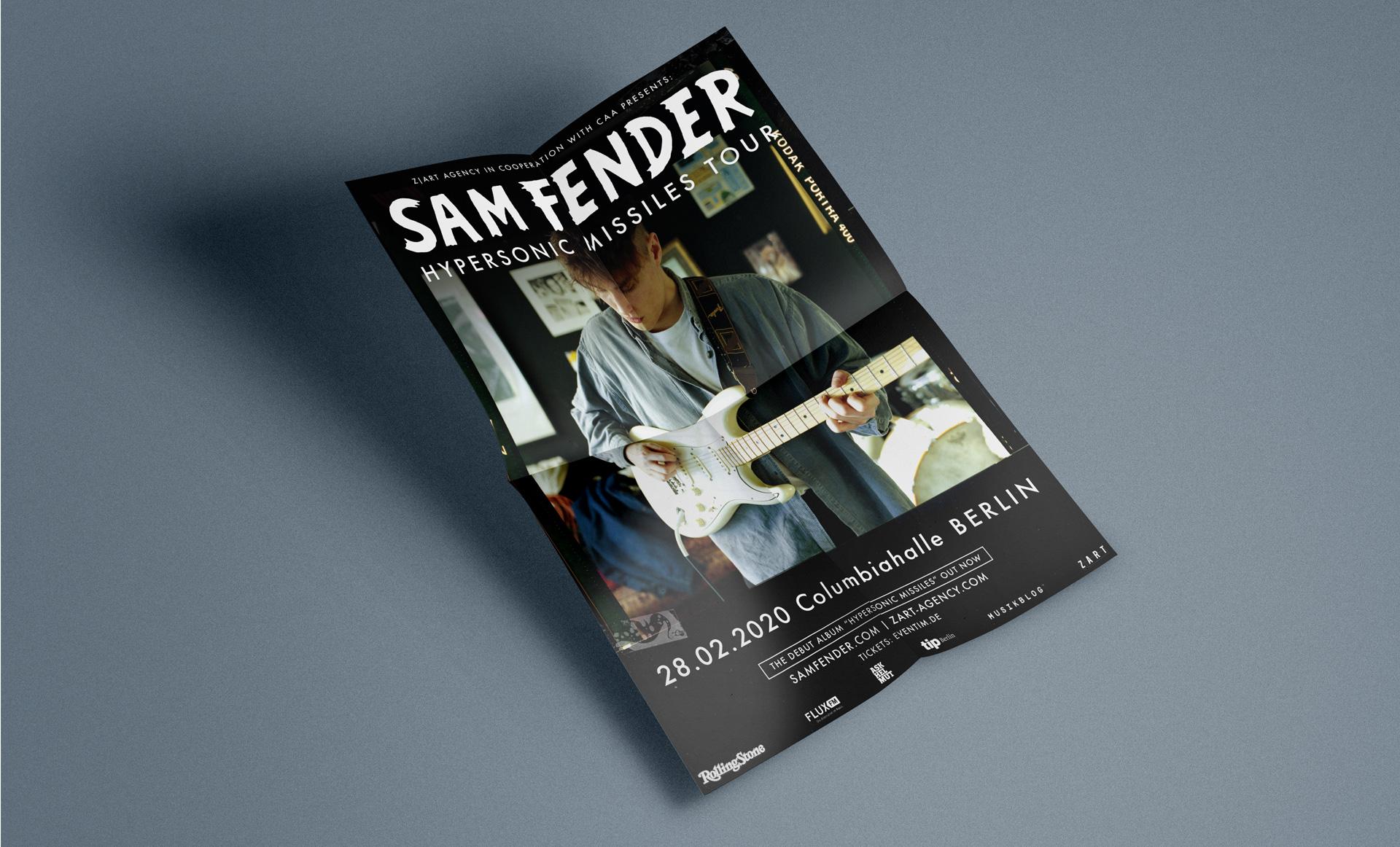 Sam_Fender_Hypersonic_Missiles_Poster