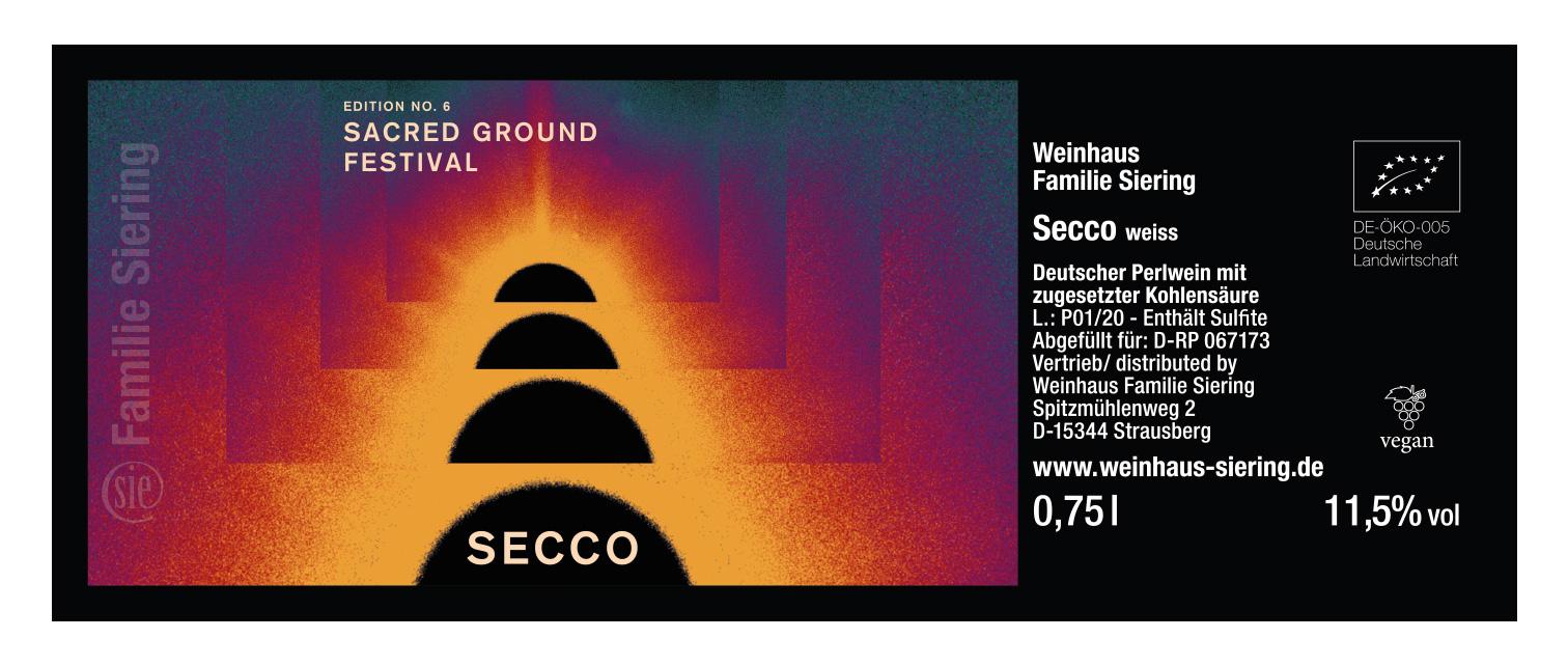 Secco_Etikett_2020_Sacred-Ground-Festival