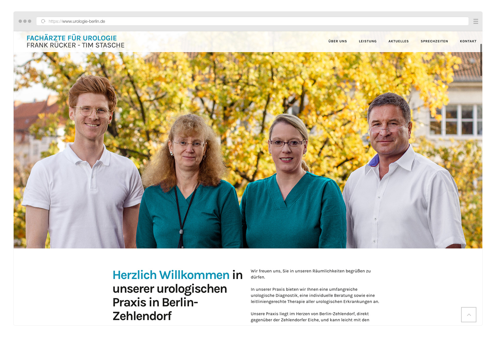 Urologie Berlin Frank Rücker